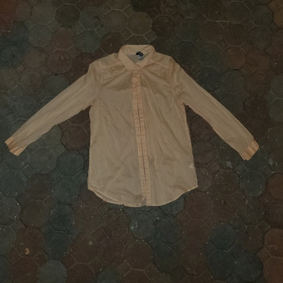 Divided by H&M Tops - Pale Coral Button Down Shirt